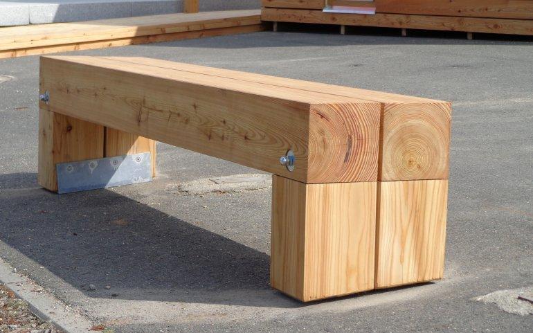 Dřevěná lavička NATURHOUSE