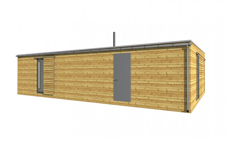Moderní dřevostavba NATURHOUSE