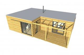 Moderní dům NATURHOUSE