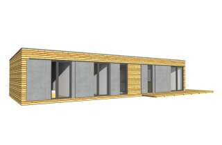 Úzký dům NATURHOUSE D15/6R