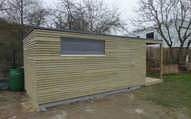 Moderní zahradní domek 5x2,5 m