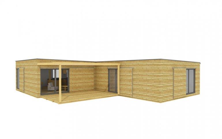 Modulový dům D15x12
