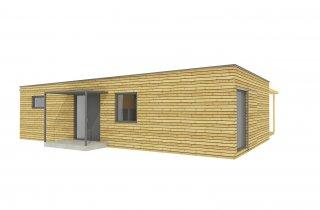 NATURHOUSE - rodinný dům 15x12 m