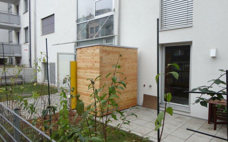 Zahradní domeček 2x1,2 m