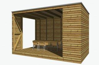Zahradní kuchyně 5x3 m