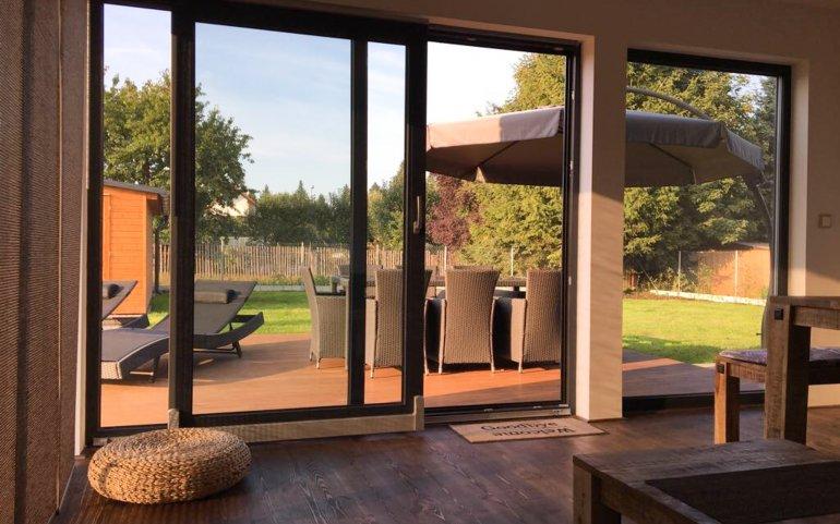 Moderní chata 12x6 m - Domažlice