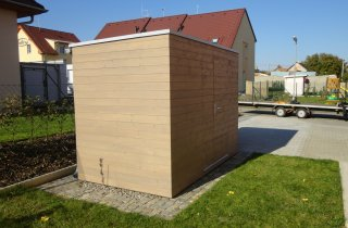 Domek na zahradu dřevěný