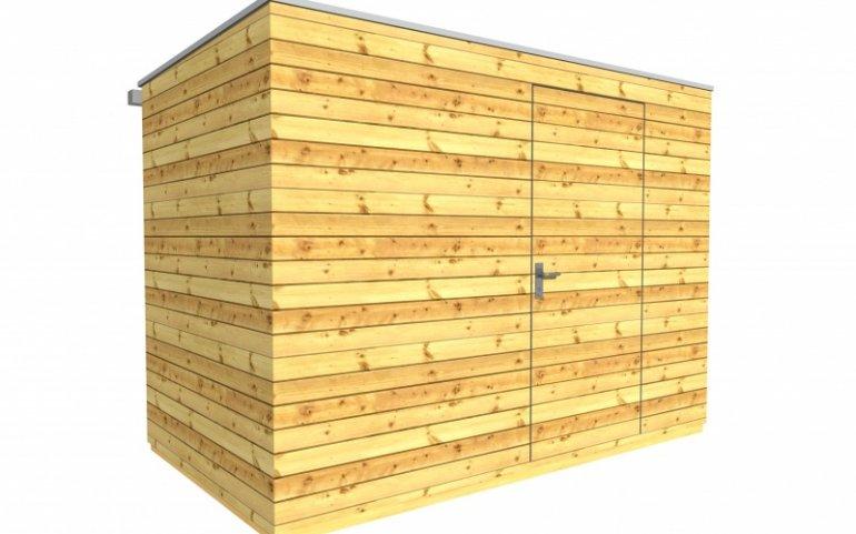 Zahradní domek 3x2 m