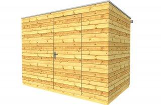 Dřevěný domek na nářadí 3x2 m