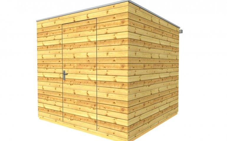 Zahradní domek 2,5x2,5 m