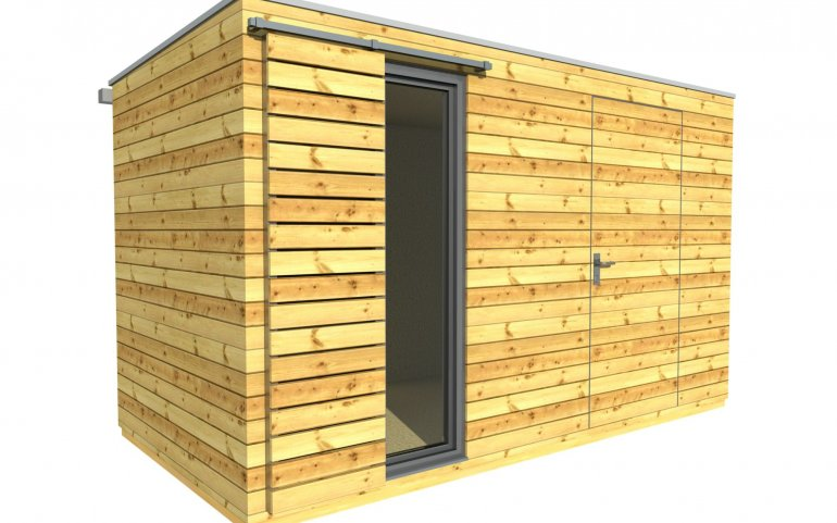 Zahradní domek 4x2 m
