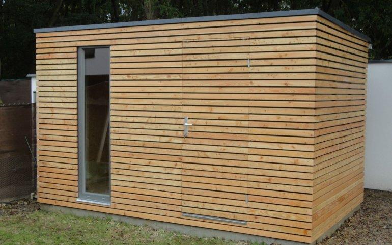 Moderní domek na nářadí