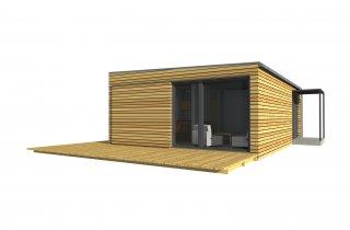 Moderní modulový dům 9x6 m