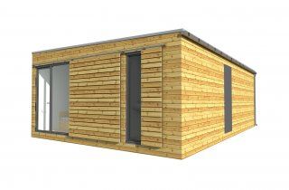 Modulový dům 9x9 m