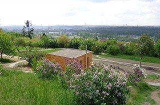 Výhled na Prahu - NATURHOUSE v Botanické zahradě