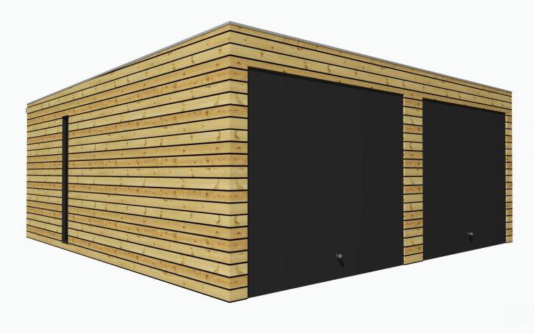 Montovaná garáž 5,7x6,3 m