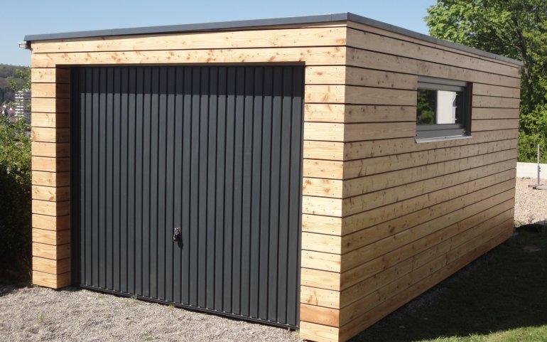 Montovaná garáž 6,3x3,2 m