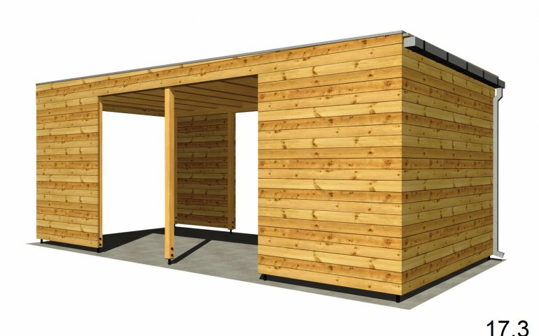 Garážové stání P 6x3 m