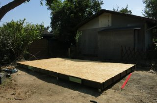 Modulový dům - podlaha