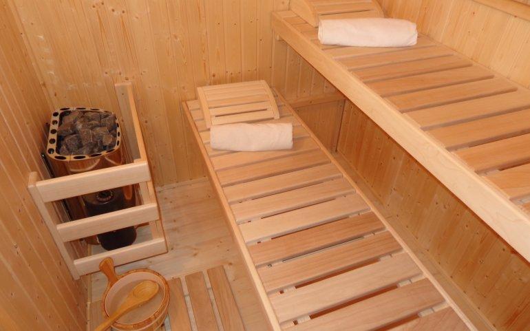 Saunové lavice