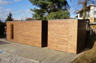 Sauna a sklad NATURHOUSE