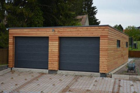 Montovaná garáž 6,3x6,3 m