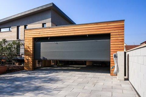 Dřevěné montované garáže a parkovací stání