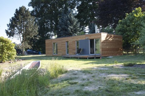 Modulový dům 12x6 m