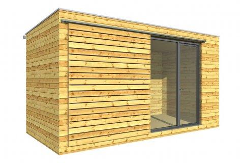 Venkovní dřevěná herna 5x2,5 m