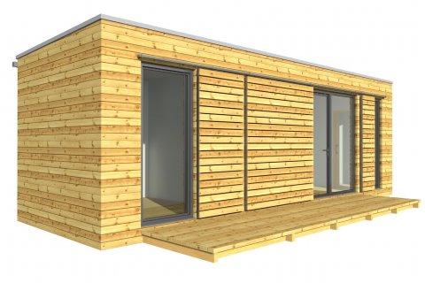 Modulový dům 9x3 m