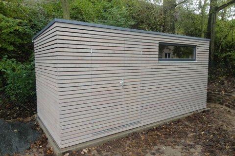 Zahradní domek na nářadí 5x2,5 m