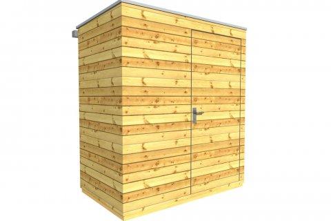 Zahradní domek na nářadí 2x1,2 m
