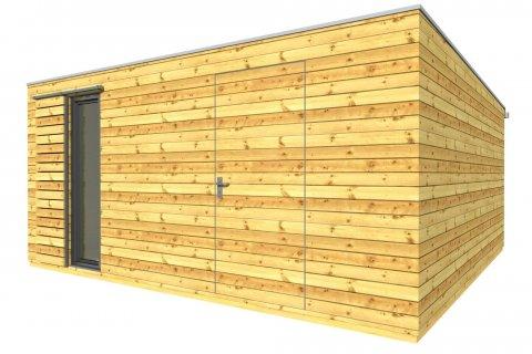 Zahradní domek na nářadí 5x5 m