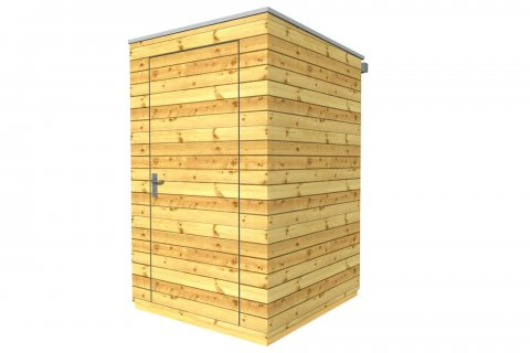 Zahradní domek 1,5x1,5 m