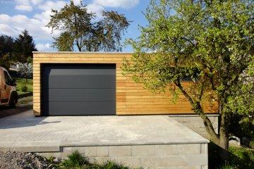 Dřevěná garáž NATURHOUSE - 7,5 x 3,5 m - Děčín