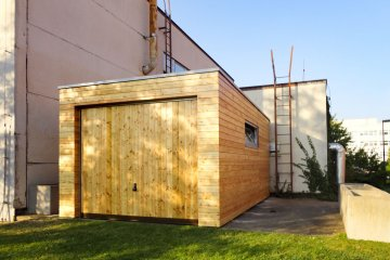 Dřevěná garáž NATURHOUSE G5,7x3 - Praha-Krč