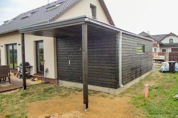 Garáž NATURHOUSE - 7 x 3,6 m - Vojkovice