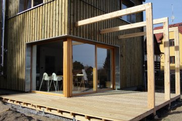 Dřevěná terasa - 20 m2 - Plzeň