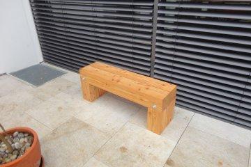 Dřevěná lavička - Aschheim