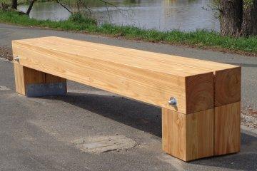 Dřevěná lavička - Cham