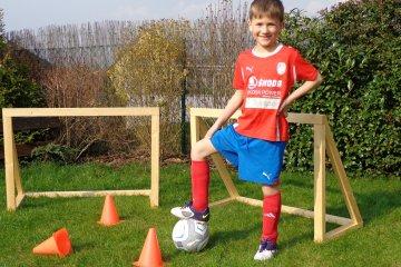 Dětské dřevěné branky - Plzeň