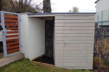 Zahradní domek na nářadí S2 - 1,5x1,5m - ATYP - Praha Troja
