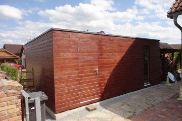 Dřevěný zahradní sklad na nářadí S24 - 6x4 m - Česká Lípa
