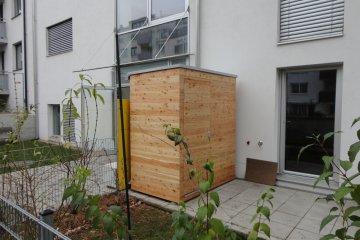 Dřevěný domeček na nářadí S2,5 - Vídeň
