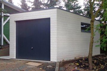 Dřevěná garáž NATURHOUSE G5,7/3 - 5,7 x 3,25 m - Plzeň