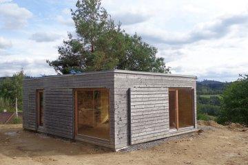 Dřevěná chata NATURHOUSE - D9x6 - Záluží