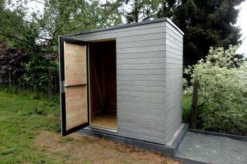 Domeček na nářadí S4 - 1,6 x 2,45 m - Oberursel