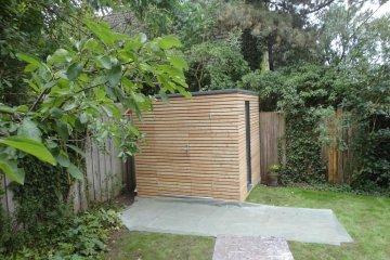 Dřevěný domek na nářadí S6 - 2,47 x 2,41 m - Büchenbach