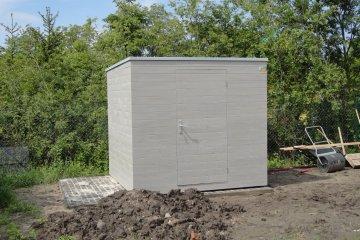 Zahradní domek na nářadí S6 - 2,5 x 2,4 m - Poděbrady