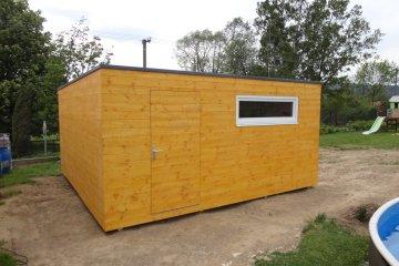 Zahradní domek na nářadí S24 - 5x4,8 m - Okrouhlá Radouň